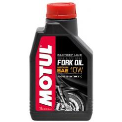 Масло для вилок MOTUL 10W MEDIUM   1л. синтетика