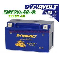 АКБ мото 12V 10A DYNAVOLT MG12A-BS-С(YT12A-BS)151х87х105мм