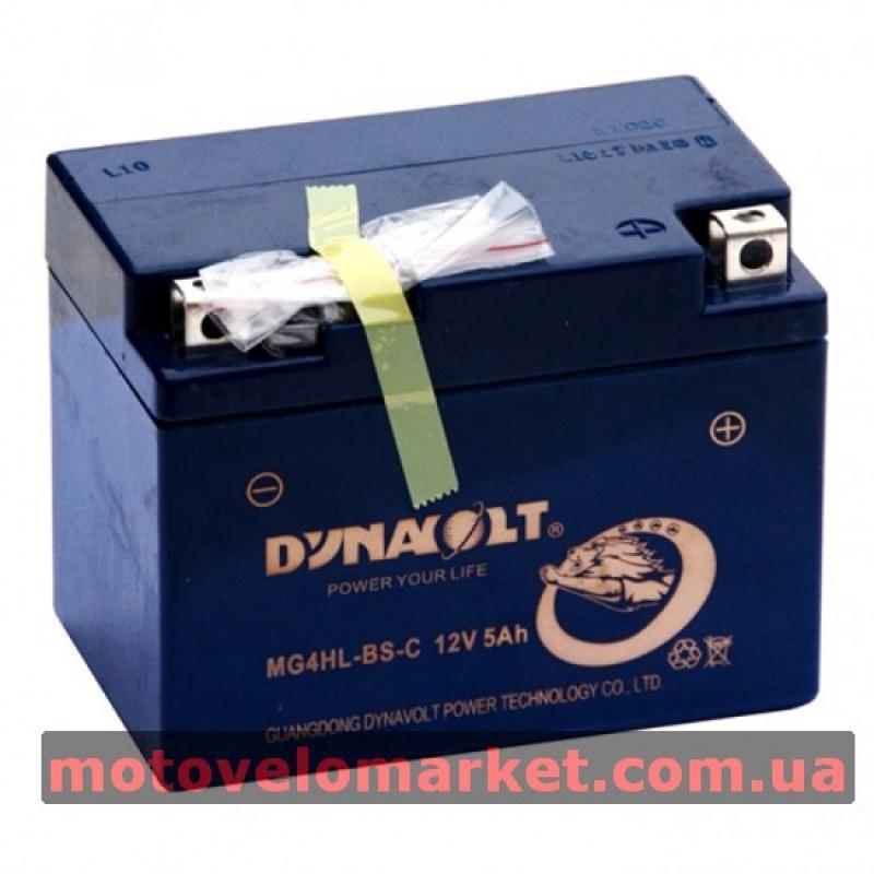 АКБ мото 12V 5A DYNAVOLT MG4HL-BS-C(YTX4L-BS)114х71х86мм