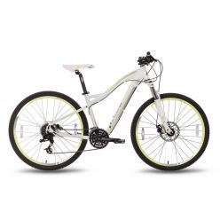 """Велосипед 27,5'' PRIDE """"XC-650 MD W"""" дисковый тормоз бело-зеленый матовый 2016"""