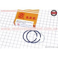Кольца поршневые Honda DIO ZX50 40мм STD (желтая коробка)
