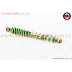 Амортизатор задний GY6/Honda - 300мм*d41мм (втулка 10мм / вилка 8мм), зеленый