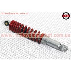 Амортизатор задний GY6/Honda - 310мм*d54мм (втулка 10мм / вилка 8мм) регулир., красный