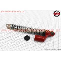Амортизатор задний GY6/Honda - 310мм*d43мм (втулка 10мм / вилка 8мм), серый