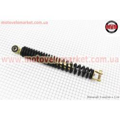 Амортизатор задний GY6/Honda - 300мм*d38мм (втулка 10мм / вилка 8мм), черный