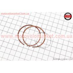Кольца поршневые Honda DIO65 43мм +0,50