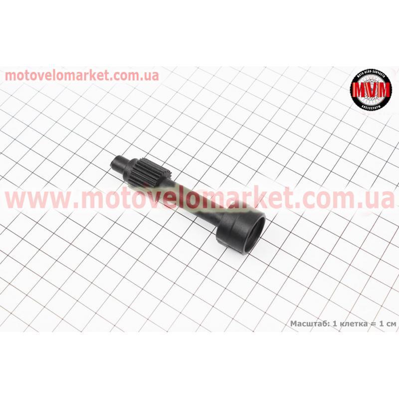 Насоса масляного привод - вал Suzuki Lets (пластмасса)