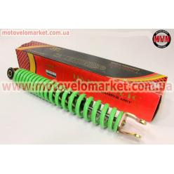 Амортизатор задний GY6/Honda - 295мм*d40мм (втулка 10мм / вилка 8мм), зеленый
