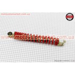 Амортизатор задний GY6/Honda - 295мм*d43мм (втулка 10мм / вилка 8мм), красный
