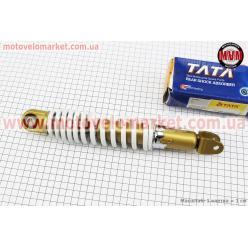 Амортизатор задний GY6/Yamaha - 275мм*d50мм (втулка 10мм / вилка 8мм) регулир., белый
