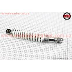 Амортизатор задний GY6/Honda - 280мм*d50мм (втулка 10мм / вилка 8мм) регулир., белый
