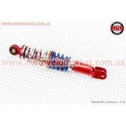 Амортизатор задний GY6/Yamaha - 265мм*d54мм (втулка 10мм / вилка 8мм) регулир., тюнинг
