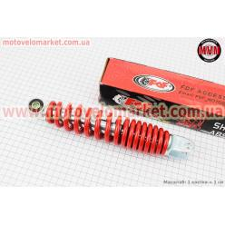 Амортизатор задний GY6/Yamaha - 250мм*d50мм (втулка 10мм / вилка 8мм), красный