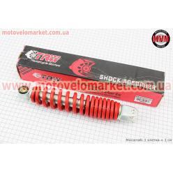Амортизатор задний GY6/Yamaha - 255мм*d50мм (втулка 10мм / вилка 8мм), красный