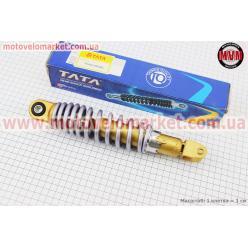 Амортизатор задний GY6/Yamaha - 260мм*d52мм (втулка 10мм / вилка 8мм) регулир., серый