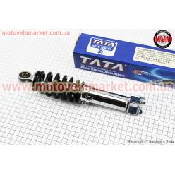 Амортизатор задний GY6/Yamaha - 255мм*d55мм (втулка 10мм / вилка 8мм) регулир., черный