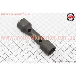 Ключ свечной для 2T/4Т - 18/21mm  (каленый)