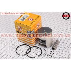 Поршень, кольца, палец к-кт Honda TACT (SA50) 41мм +0,25 желтая коробка (палец 10мм)