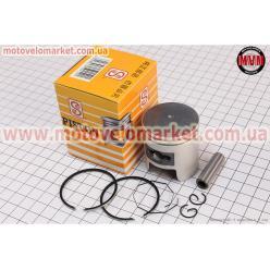 Поршень, кольца, палец к-кт Honda TACT (SA50) 41мм +0,75 желтая коробка (палец 10мм)