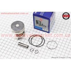 Поршень, кольца, палец к-кт Honda TACT (SA50) 41мм +0,50 синяя коробка (палец 10мм)