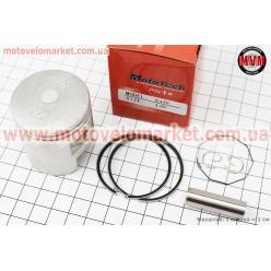Поршень, кольца, палец к-кт Honda TACT (SA50) 41мм +1,00, Китай (палец 10мм)