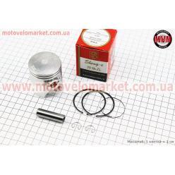 Поршень, кольца, палец к-кт Honda LEAD90 48мм +0,25 красная коробка (палец 12мм)