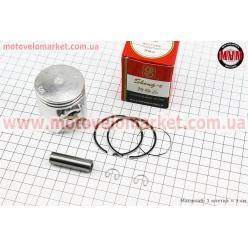 Поршень, кольца, палец к-кт Honda LEAD90 48мм +0,50 красная коробка (палец 12мм)
