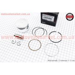 Поршень, кольца, палец к-кт Honda CH125 SPACY 52,40мм +1,00 (палец 15мм)