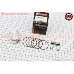 Поршень, кольца, палец к-кт 4T Suzuki AD50/LETS 50cc - 39мм + 0,75 (палец 10мм)