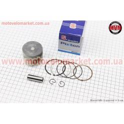 Поршень, кольца, палец к-кт Honda CH100 50мм +0,50 синяя коробка (палец 13мм)