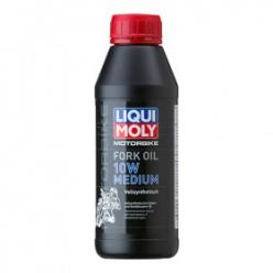 Масло вилочное LIQUI MOLI  10W Medium  0.5 л. синтетика