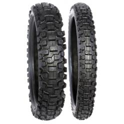 Моторезина 100/100-18 DURO 59M DM1153 BLACK TIRE