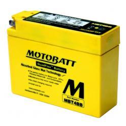 "АКБ мото 12V 2.5A ""MOTOBATT"" таблетка узкая  113 x 38 x 87 мм"