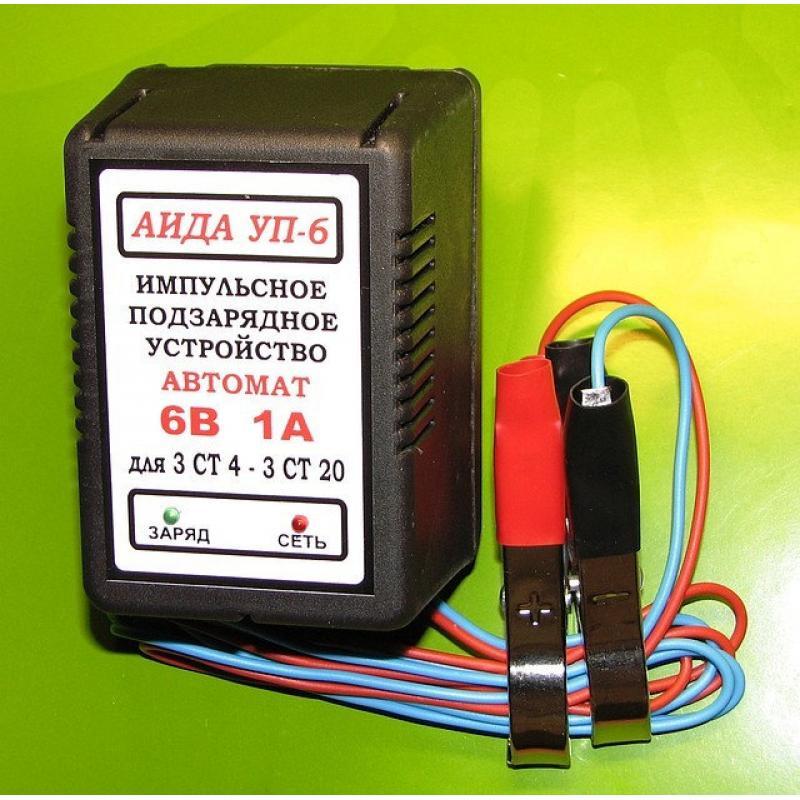 """Купить Зарядное устройство акб 6V """"АИДА УП-6"""""""