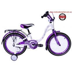 """Велосипед 16""""  ARDIS  """"DIANA""""  цвет: фиолетовый/зеленый"""