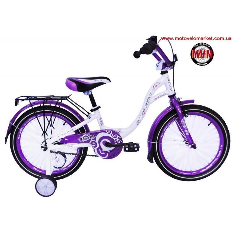 """Купить Велосипед 18""""  ARDIS  """"DIANA"""" фиолетовый/зеленый"""