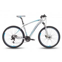 """Велосипед 27,5'' PRIDE """"XC-650 MD"""" дисковый тормоз серо-синий матовый 2016"""