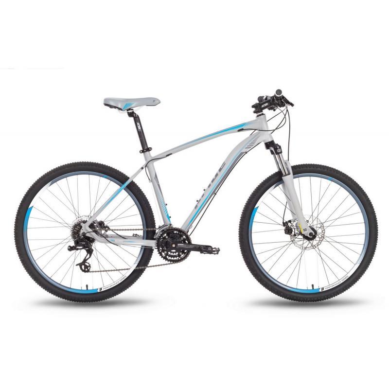 """Купить Велосипед 27,5'' PRIDE """"XC-650 MD"""" дисковый тормоз серо-синий матовый 2016"""