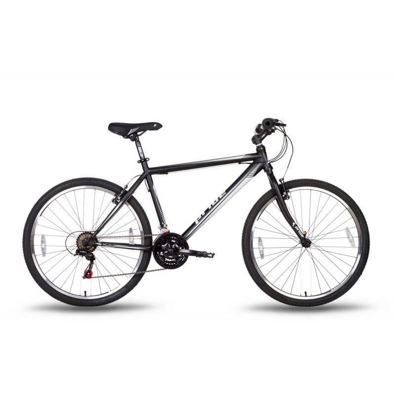 """Купить Велосипед 26'' PRIDE """"XC-1.0"""" ободные V-brake  черно-белый  матовый 2016"""