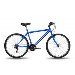 """Велосипед 26'' PRIDE """"XC-1.0"""" ободные V-brake  сине-черный  матовый 2016"""