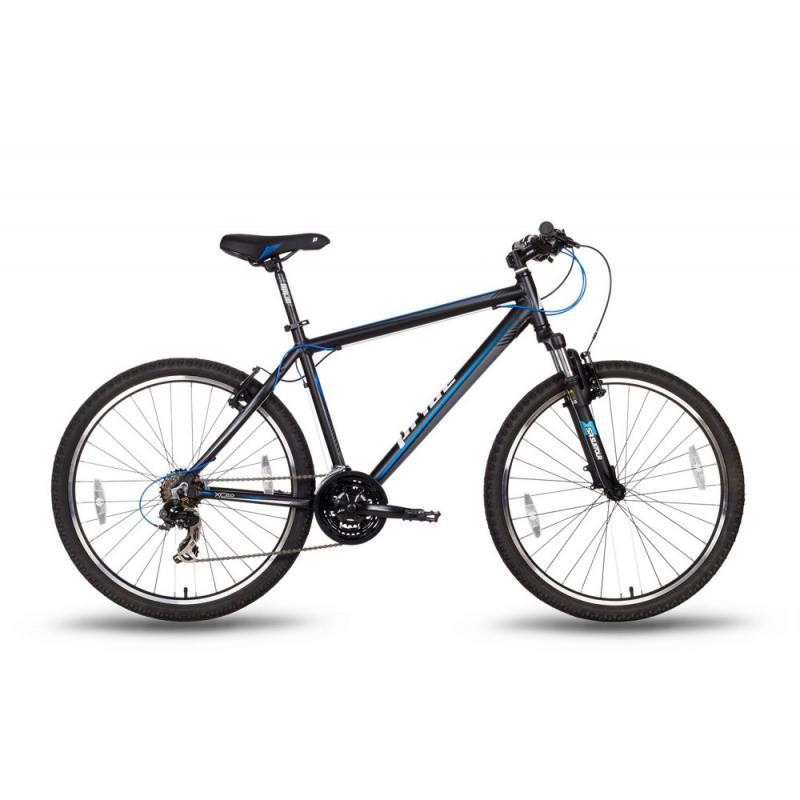 """Купить Велосипед 26'' PRIDE """"XC-2.0"""" ободные V-brake  черно-синий  матовый 2016"""