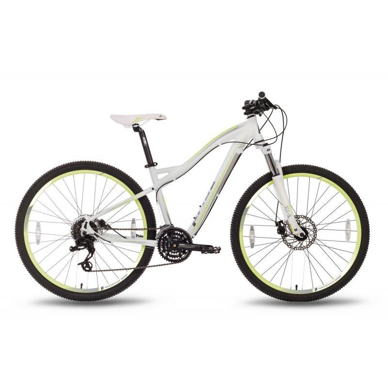 """Купить Велосипед 27,5'' PRIDE """"XC-650 MD W"""" дисковый тормоз бело-зеленый матовый 2016"""