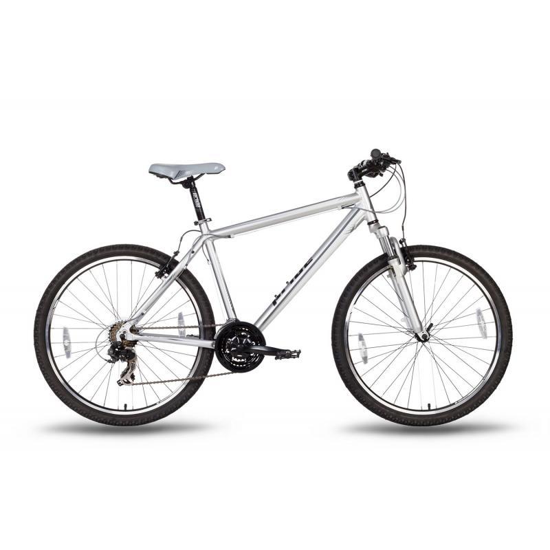 """Купить Велосипед 26'' PRIDE """"XC-2.0"""" ободные V-brake  серо-черный  матовый 2016"""