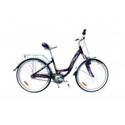 """Велосипед 24""""  WINNER  """"INFINITY""""  (фиолетовый)"""