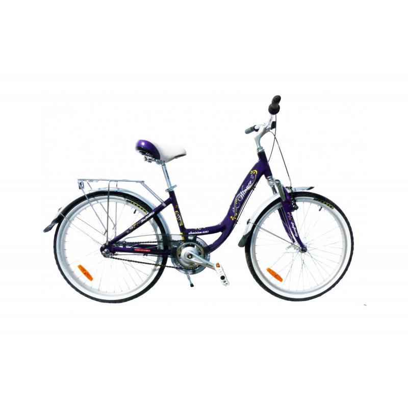 """Купить Велосипед 24""""  WINNER  """"INFINITY""""  (фиолетовый)"""