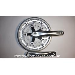 Шатуны Prowheel ATIA-530P, 30/42/52T , с защитой цепи